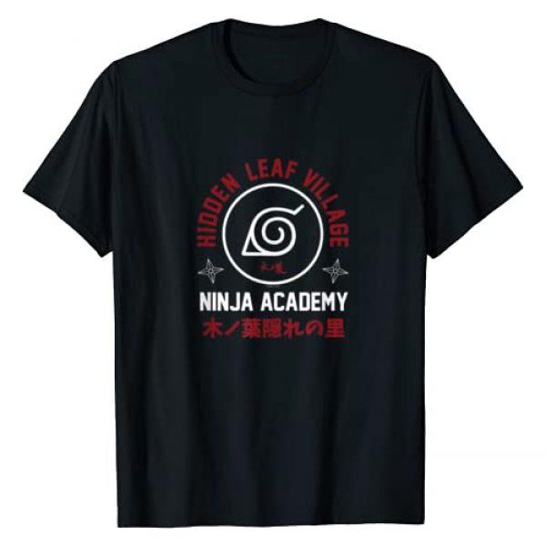Naruto Graphic Tshirt 1 Shippuden Ninja Academy T-Shirt