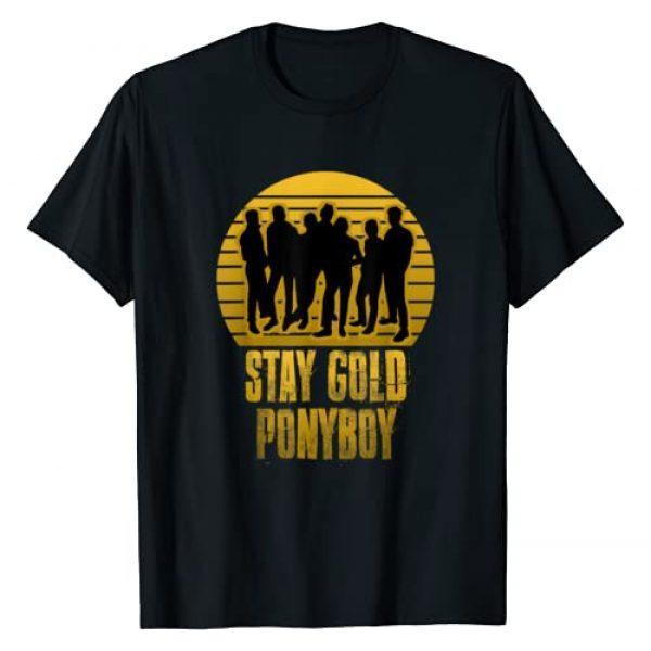 Stay Gold Ponyboy Classic 80s Graphic Tshirt 1 Stay Gold Ponyboy Vintage T-Shirt