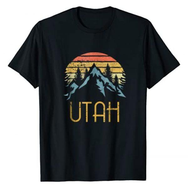 Vintage Retro Utah Tee Shirts Graphic Tshirt 1 Vintage UT, Utah Mountains Outdoor Adventure T-Shirt