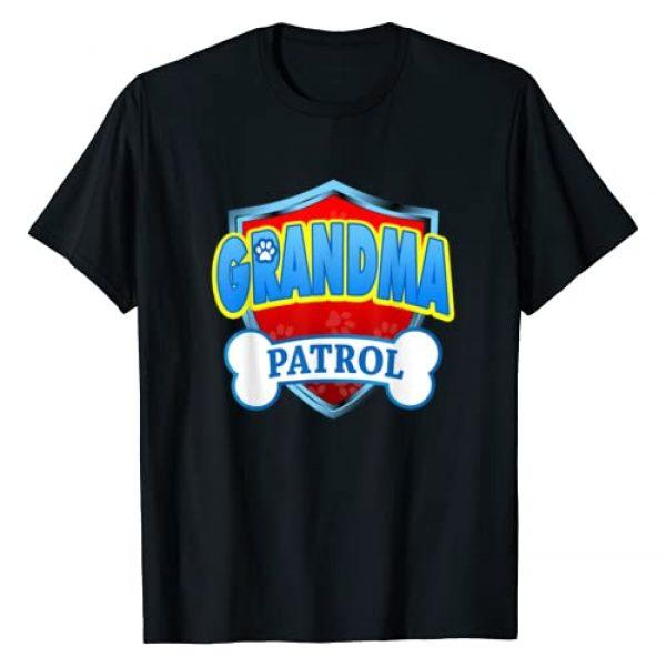 Funny Dog Dad And Dog Mom T-Shirt Graphic Tshirt 1 Funny Grandma Patrol - Dog Mom, Dad For Men Women T-Shirt