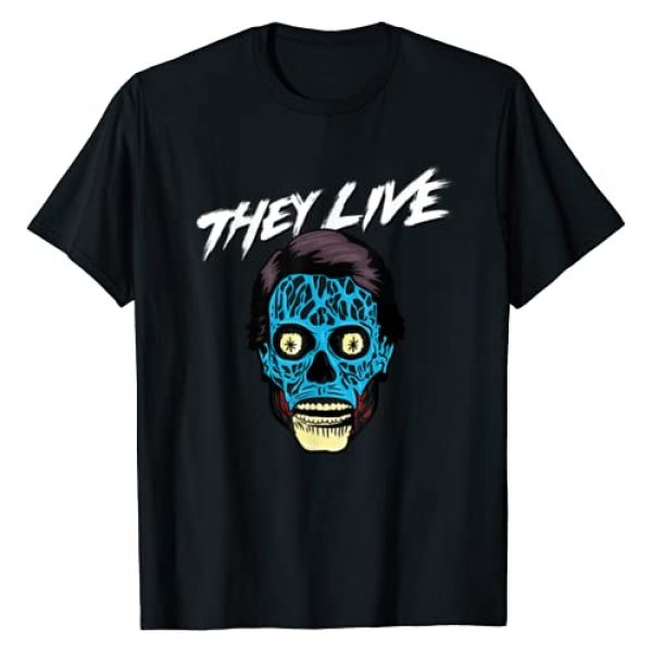They Live Graphic Tshirt 1 Alien Big Face T-Shirt