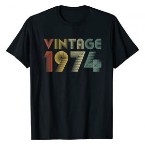Retro Vintage 1974 TShirt 45th Birthday Gifts Tees Graphic Tshirt 1 Retro Vintage 1974 TShirt 45th Birthday Gifts 45 Years Old