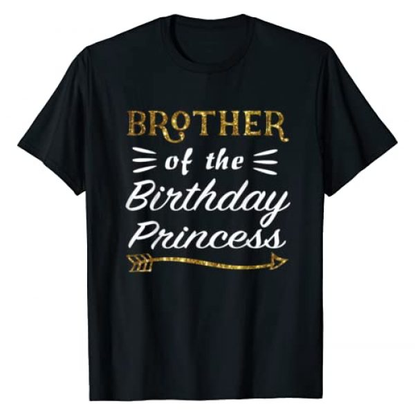 Best family matching Birthday Team Graphic Tshirt 1 Brother Of The Birthday Princess Girl party Matching Family T-Shirt