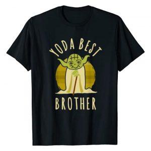 Star Wars Graphic Tshirt 1 Yoda Best Brother Cartoon Yoda T-Shirt