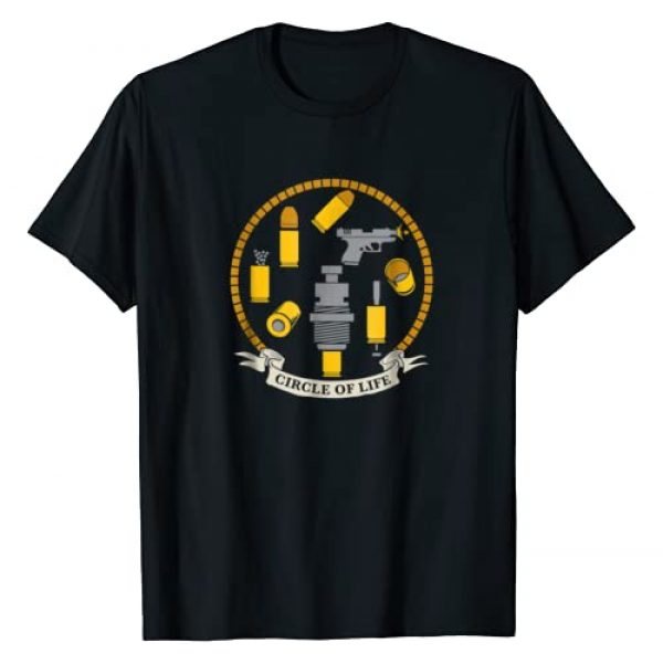 Patriot Patch Company Graphic Tshirt 1 Patriot Patch Co - Circle of Life Reloading T-Shirt