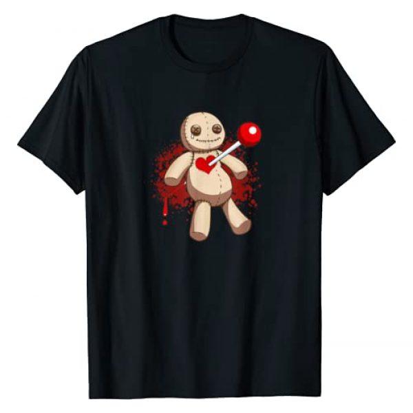 Emo Kids Music Lover Voodoo Doll Gift Graphic Tshirt 1 Voodoo Doll Emo Goth Ska Punk Rock Breakup Metal Music Love T-Shirt