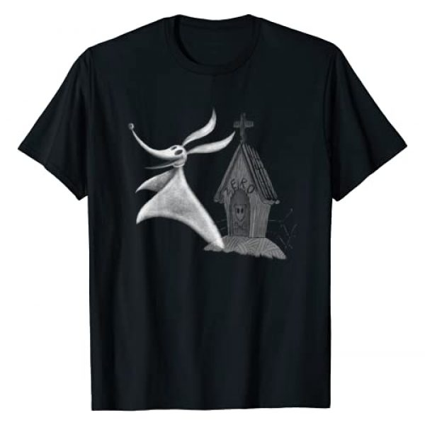 Disney Graphic Tshirt 1 The Nightmare Before Christmas Zero Dog House T-Shirt