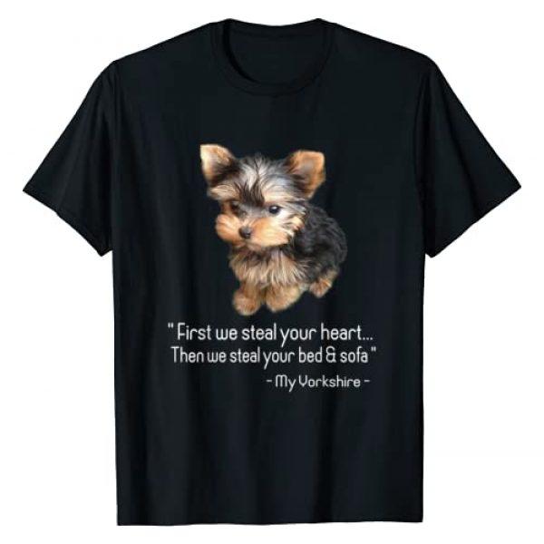 Yorkie Tshirt Graphic Tshirt 1 Yorkie TShirt
