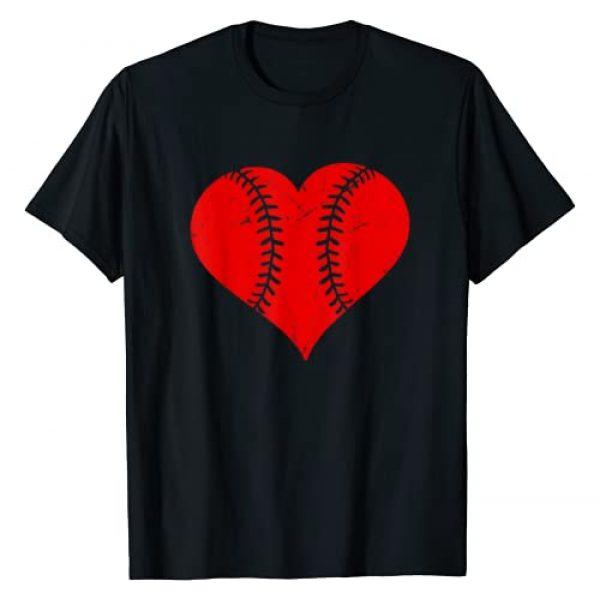 Mr Ben Valentines Day Graphic Tshirt 1 Vintage Baseball Heart Valentine's Day Boys Girls Kids T-Shirt