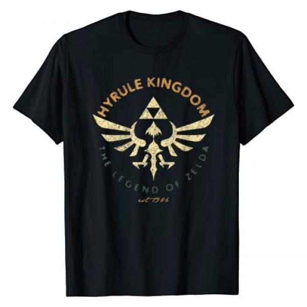 Nintendo Graphic Tshirt 1 Legend Of Zelda Hyrule Kingdom Tri Force Poster T-Shirt