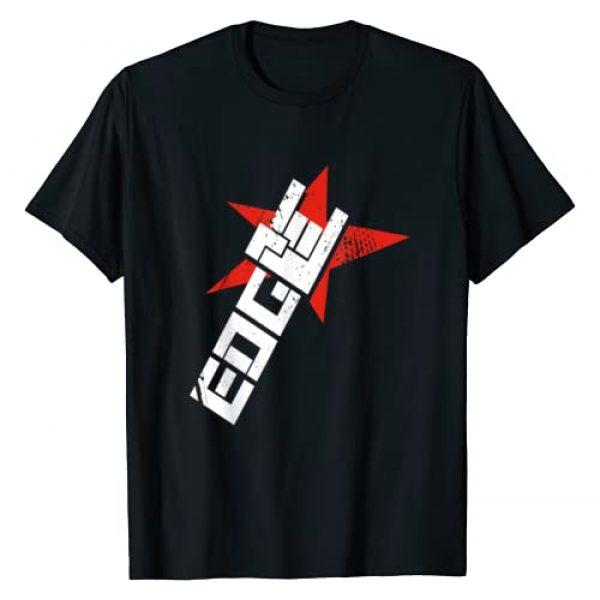 "WWE Graphic Tshirt 1 Edge ""Horns"" Graphic T-Shirt"