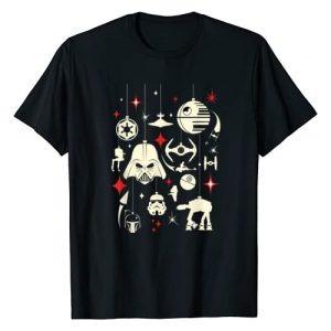 Star Wars Graphic Tshirt 1 Galactic Empire Ornaments Holiday T-Shirt