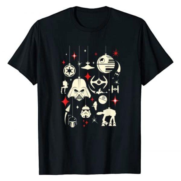Star Wars Graphic Tshirt 1 Galactic Empire Ornaments Holiday T-Shirt