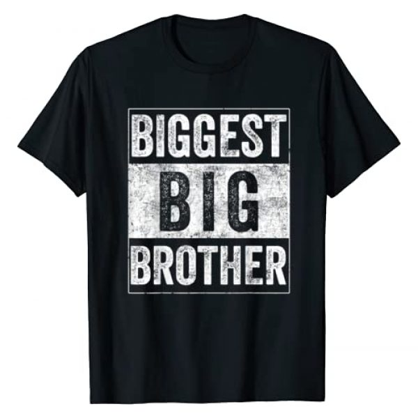biggest big brother shirt Graphic Tshirt 1 Biggest Brother Tee For Kids And Best Older Brother T-Shirt