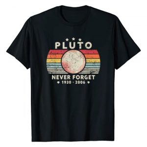 Pack A Punch Graphic Tshirt 1 Never Forget Pluto Shirt. Retro Style Funny Space, Science T-Shirt