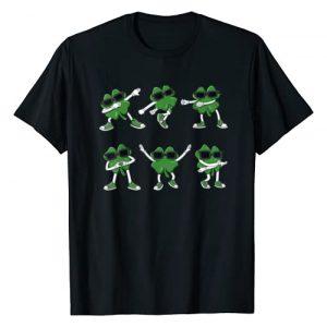 Mr Ben St Patricks Day Graphic Tshirt 1 Dance Challenge Shamrocks St Patrick's Day Boys Girls Kids T-Shirt