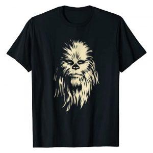 Star Wars Graphic Tshirt 1 Chewbacca Face Shadow Graphic T-Shirt