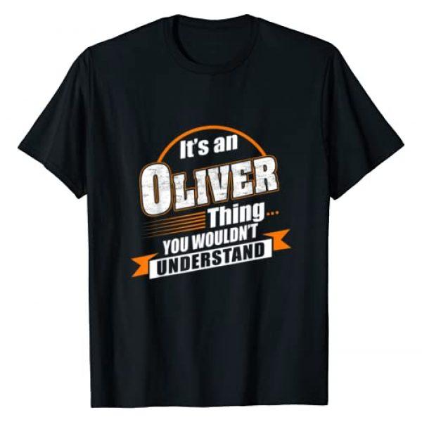 Oliver Named Tshirt Graphic Tshirt 1 Best Gift For Oliver - Oliver Named Tshirt T-Shirt