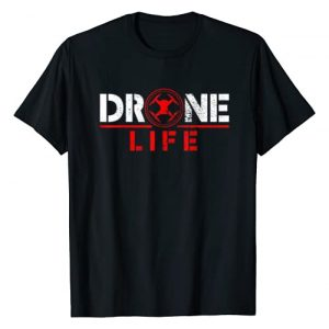 Drone Designs and Gifts Graphic Tshirt 1 Drone T-Shirt