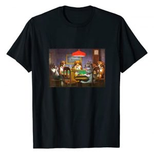 Dogs Playing Poker Graphic Tshirt 1 A Friend in Need T Shirt