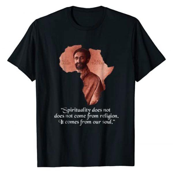 Rastafari Apparel Co. Graphic Tshirt 1 Haile Selassie Jah Rastafari - Rastafarian T-Shirt