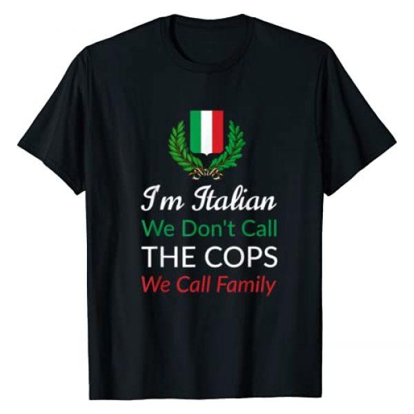 Roman Tees Graphic Tshirt 1 I'm Italian - Funny Italy Mafia T-Shirt