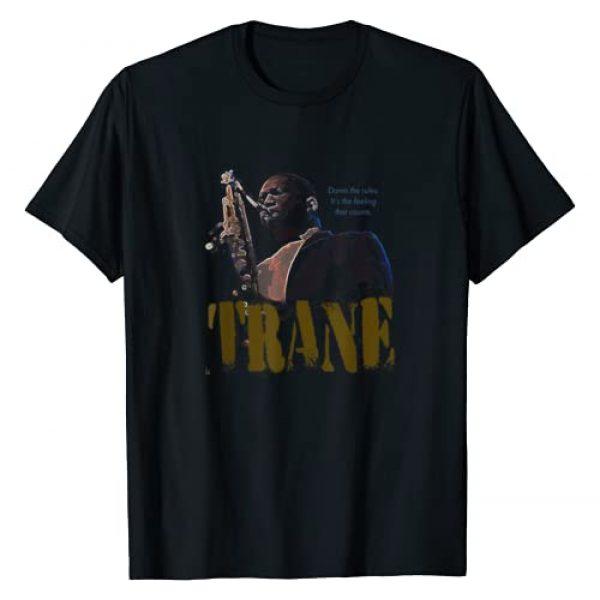 BauWau Design Graphic Tshirt 1 Coltrane Wisdom Jazz Saxophone Musician T-Shirt
