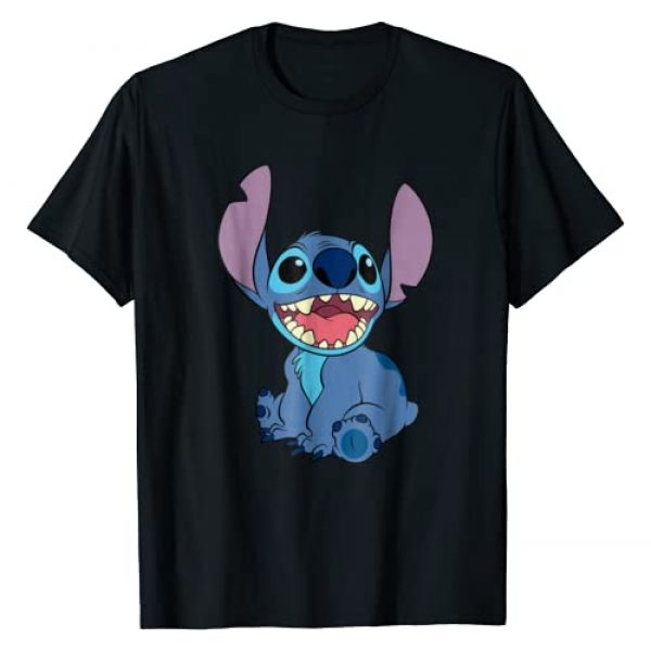 Disney Graphic Tshirt 1 Lilo and Stitch Sitting T-shirt
