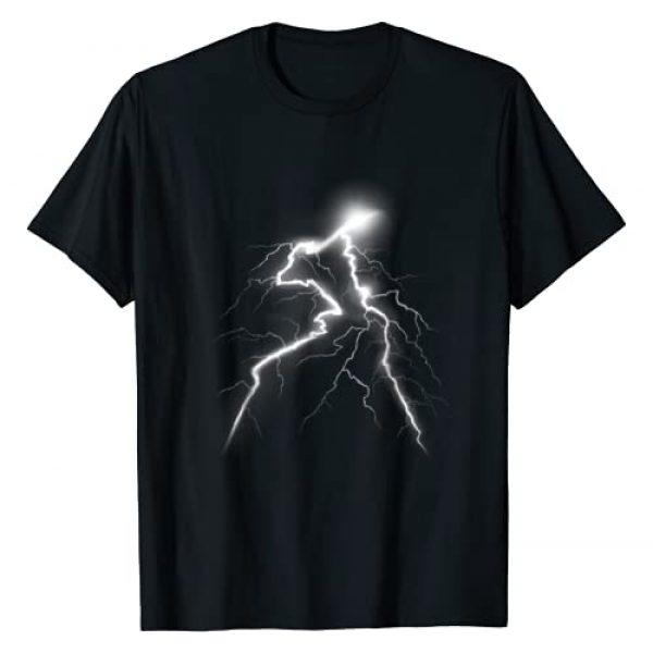 Lightning Shirt & Thunder Bolt Graphic T-Shirts Graphic Tshirt 1 Lightning Shirt with a Lightning Bolt Shirt Graphic Design