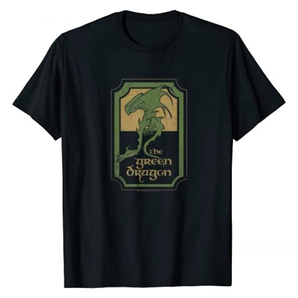 NEW LINE CINEMA Graphic Tshirt 1 The Lord of the Rings Green Dragon Tavern T-Shirt