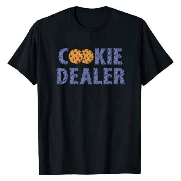 Cookie Dealer Mom Dad Family Couple Tee Graphic Tshirt 1 Scout Shirt Girl Funny Cookie Dealer Troop Leader Gift Shirt