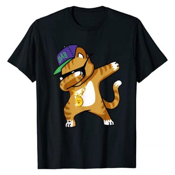Cute Dabbing Cat Shirt - Funny Cat Dab T-Shirt Graphic Tshirt 1 Dabbing Cat Funny Shirt Dab Hip Hop Dabbing Kitty T Shirt