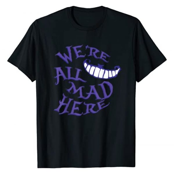 Madder Tees Graphic Tshirt 1 We're All Mad Here T-Shirt