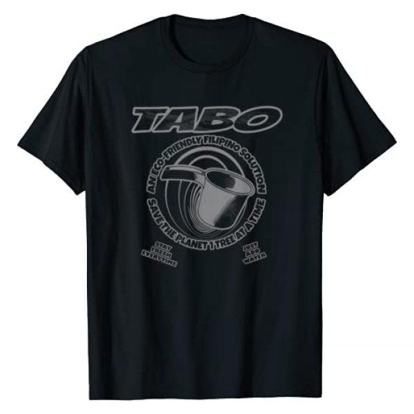 Nostalgink Graphic Tshirt 1 Tabo Filipino Eco Friendly Design T-Shirt