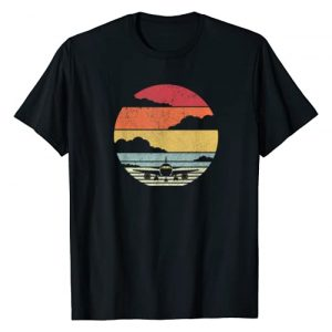 Pack A Punch Graphic Tshirt 1 Airplane Shirt. Retro Style Pilot T-Shirt