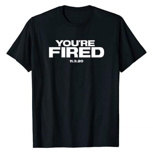 Trump Loses Election Joe Biden Wins Funny Gifts Graphic Tshirt 1 Trump Loses Election Fired President Biden Kamala VP Funny T-Shirt