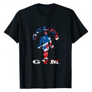 Gold's Gym Graphic Tshirt 1 Americana T-Shirt T-Shirt