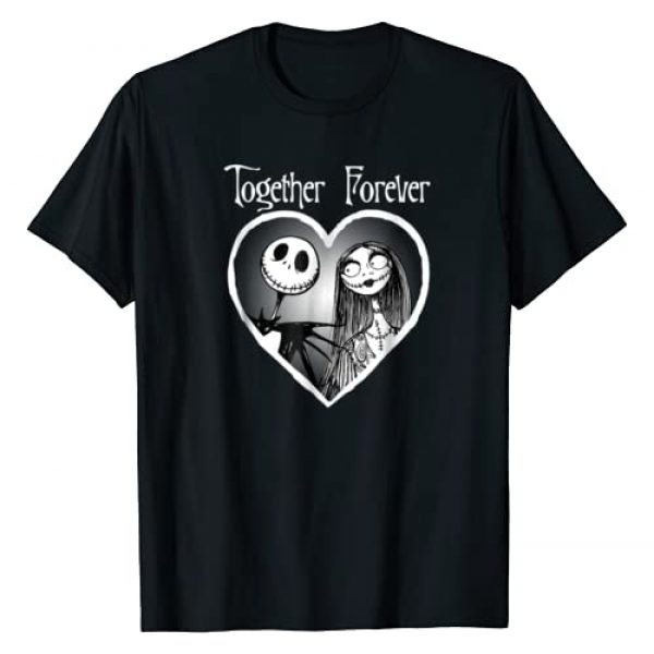 Disney Graphic Tshirt 1 Nightmare Before Christmas Together T Shirt