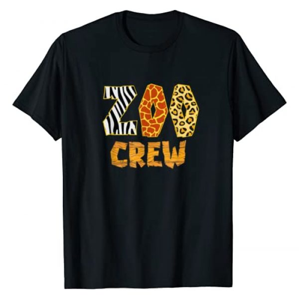 Zoo Crew T-Shirts & Gifts Graphic Tshirt 1 Zoo Crew Animal Print for Kids or Adults Zoo Group T-Shirt