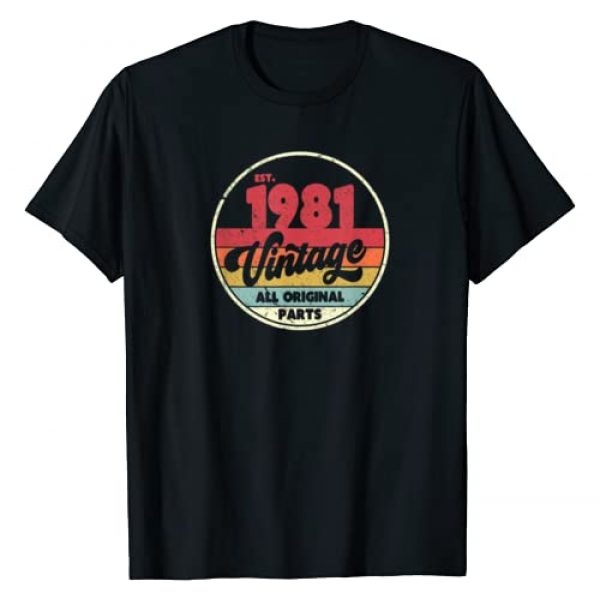 Pack A Punch Graphic Tshirt 1 1981 Vintage Shirt, Birthday Gift Tee. Retro Style T-Shirt