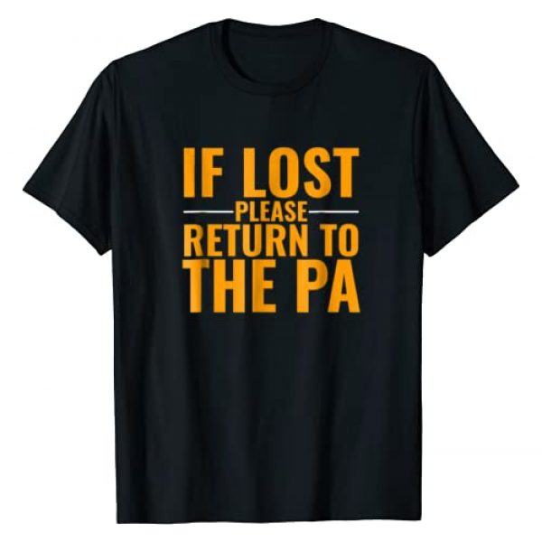 Swagazon Tees Graphic Tshirt 1 If Lost Please Return To the PA T-Shirt