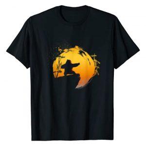 Kung Fu Panda Graphic Tshirt 1 Po Tai Chi Sunset Silhouette T-Shirt