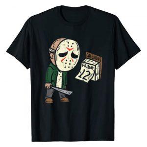 BoredKoalas Funny Halloween Costume Shirts 2020 Graphic Tshirt 1 Friday 12th Funny Halloween Horror Movie Humor T-Shirt