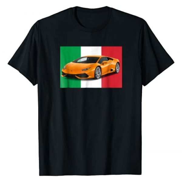 """Exotic SuperCar T-Shirt's Graphic Tshirt 1 Italian Supercar"""" A Great t-shirt for Men, Wemon and Boy's"""