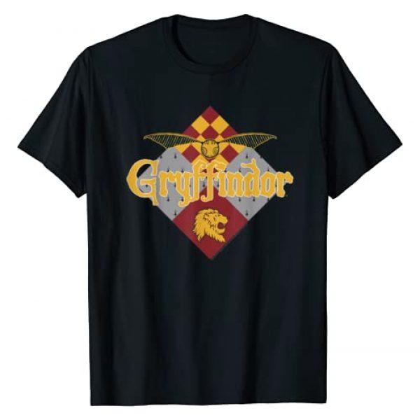 Harry Potter Graphic Tshirt 1 Gryffindor Quidditch T-Shirt