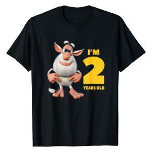 Booba Graphic Tshirt 1 I'm 2 years old Birthday Boy T-Shirt