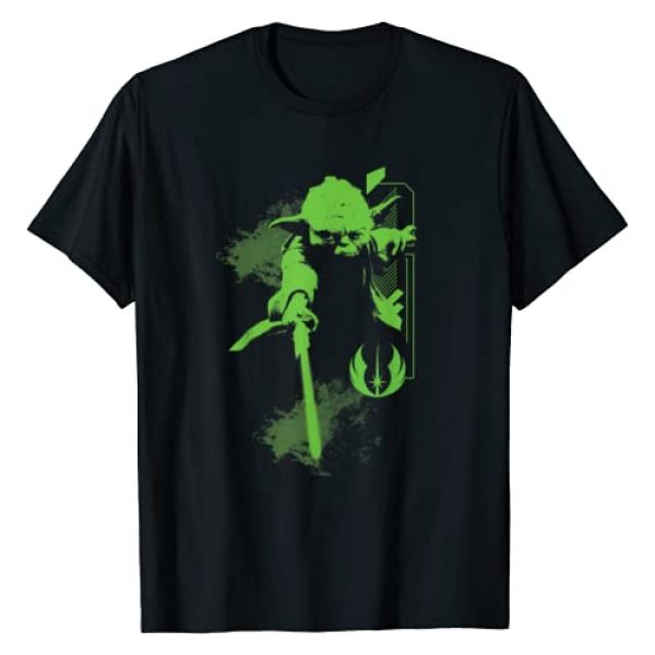 Star Wars Graphic Tshirt 1 Yoda Jedi Master T-Shirt