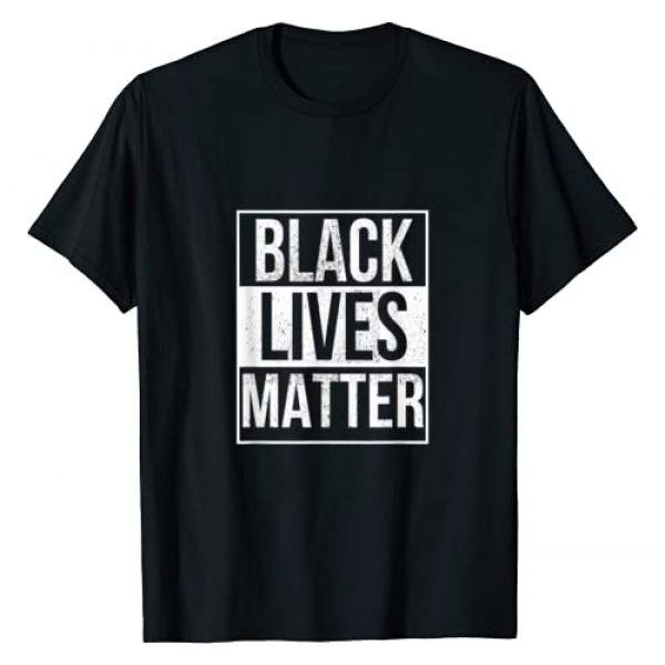 BLM Shirt Graphic Tshirt 1 BLM T Shirt - Distressed Black Lives Matter T-Shirt