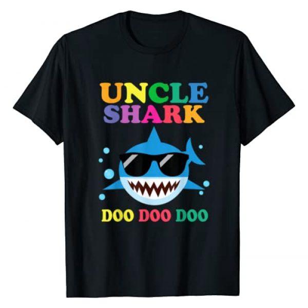 Happy Family Shark Doo DOO Gift Shirt Graphic Tshirt 1 Women Uncle Shark Doo Doo Funny Kids Video Baby T-Shirt
