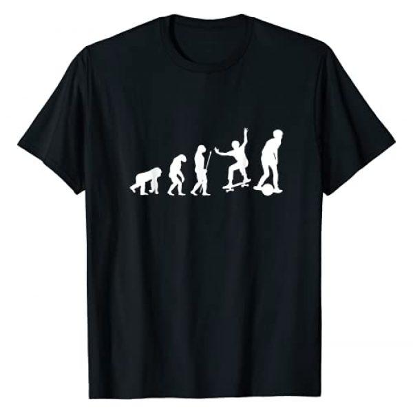 Float Board Vibe Merchandise Graphic Tshirt 1 Evolution of Skateboard One Wheel Riding Float Life T-Shirt